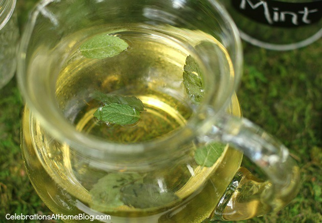 mint symple syrup recipe for mint juleps - bourbon bar