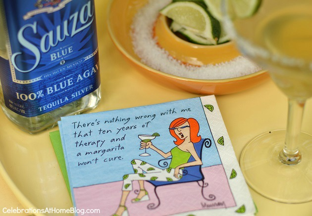silly napkins for ladies night cinco de mayo