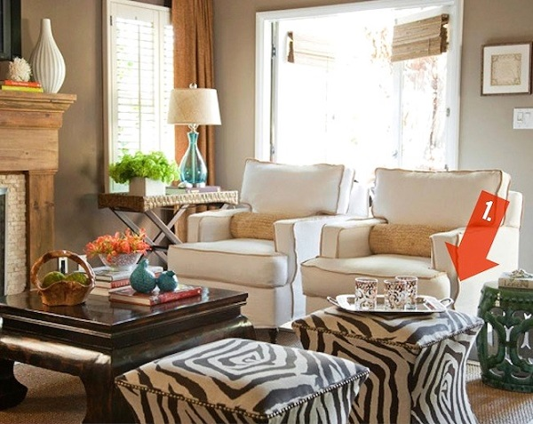 adding Animal prints in home decor