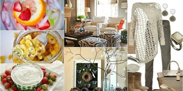 Weekend Style :: Home, Food, Fashion