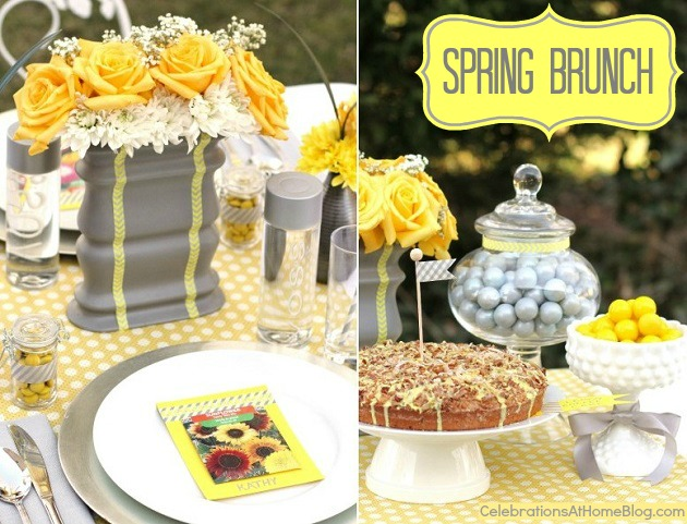 Spring Brunch Ideas & Recipe - Celebrations at Home