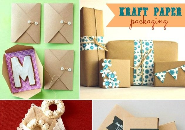 Dress Up Your Favors With Kraft Paper Packaging