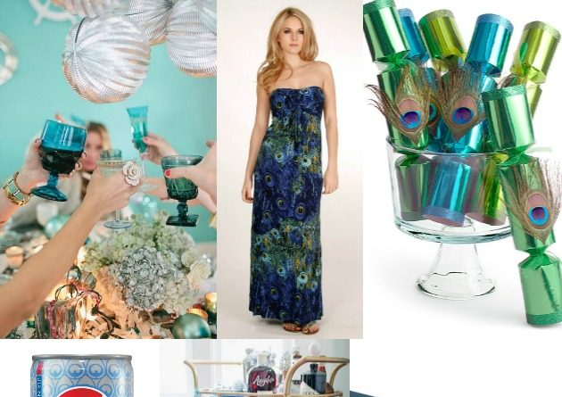Peacock Inspired Party