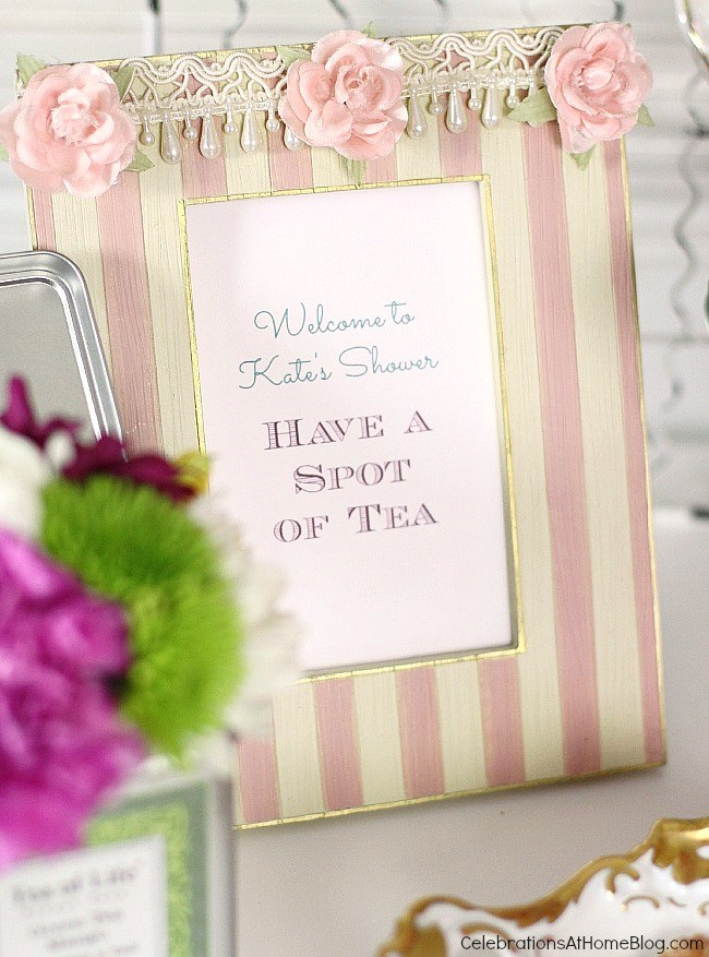 great ideas for mothers day or any girls gathering these tea party bridal shower ideas
