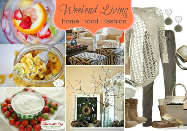 weekend living - home food fashion