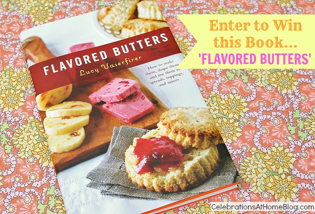 Flavored Butters book giveaway