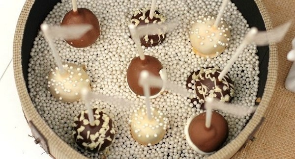 make your own brownie pops