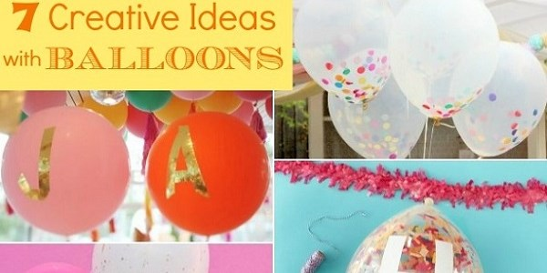 7 ideas for balloons