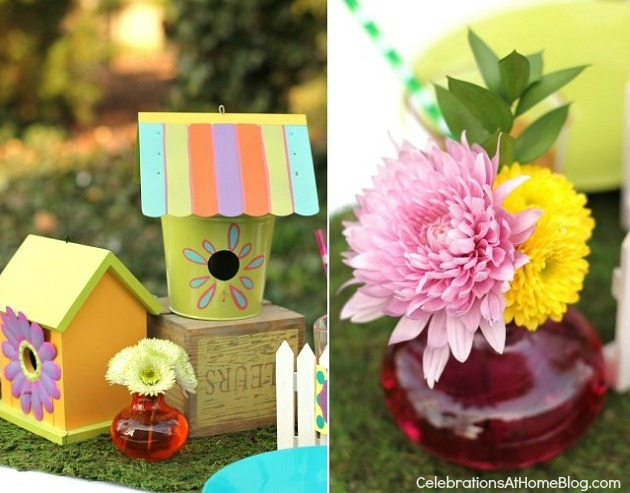 Kids Garden Party Ideas Whimsical kids garden party ideas celebrations at home kids gardn party table kids garden workwithnaturefo