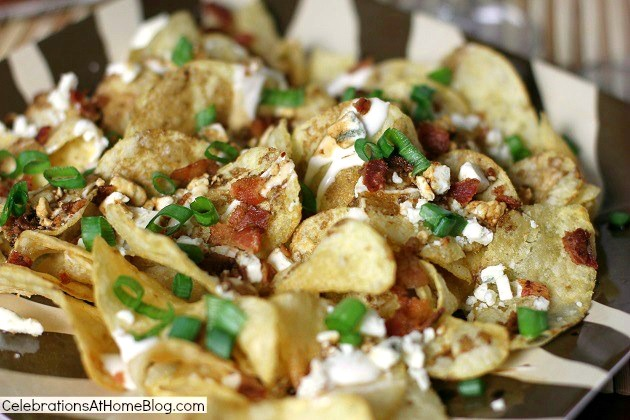blue cheese & balsamic kettle chips