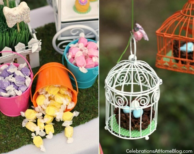 kids garden party sweets