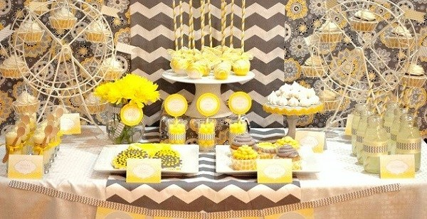 """You Are My Sunshine"" Dessert Table {guest feature}"