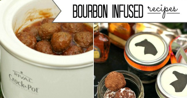 Bourbon Infused Recipes – Meatballs & Dessert Balls