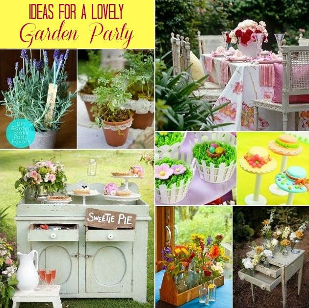 garden party ideas 33 garden party tables decor ideas
