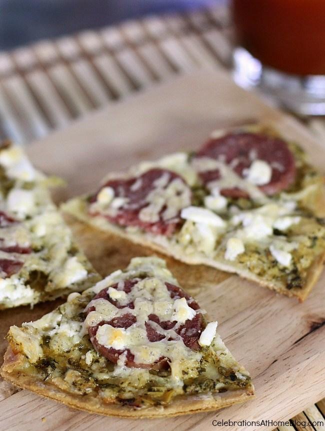 gourmet italian style pizza