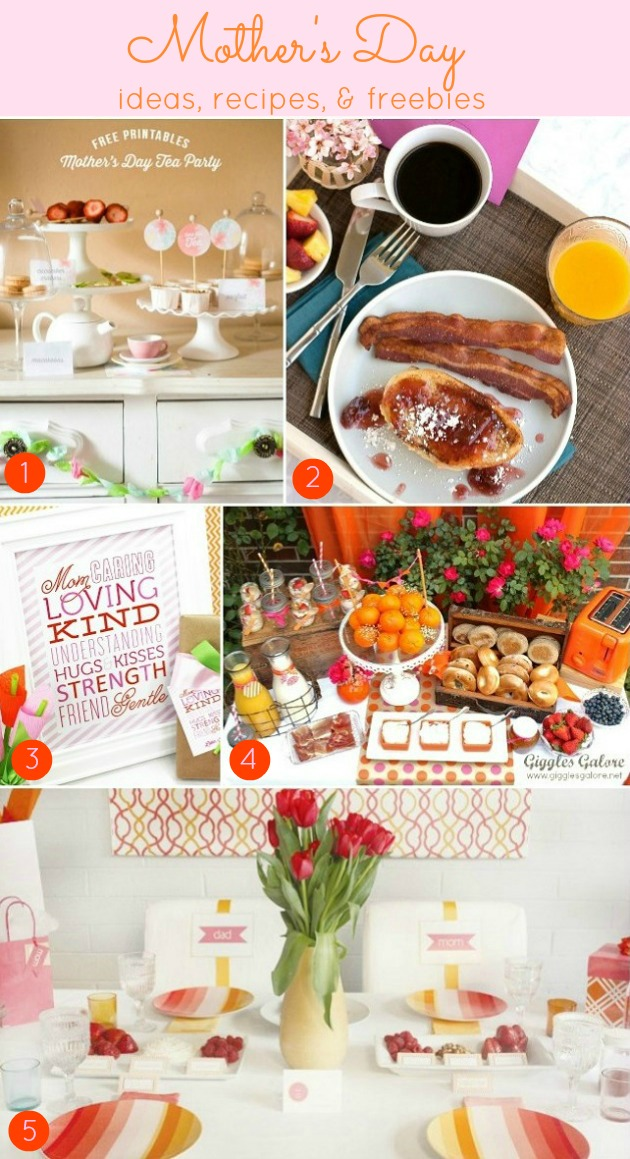 Mother's Day Ideas, Freebies, & Recipes - Celebrations at Home