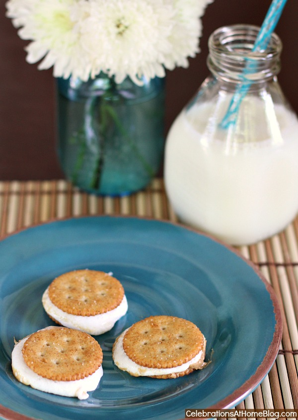 peanut butter marshmallow cracker treats