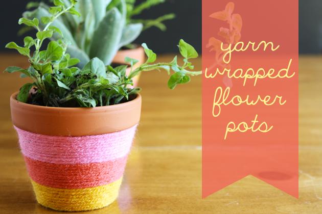 yarn-wrapped-flower-pots-4