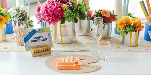 Paint Inspired Party {Guest Feature}