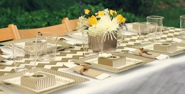 A Gold Party With Martha Stewart Celebrations