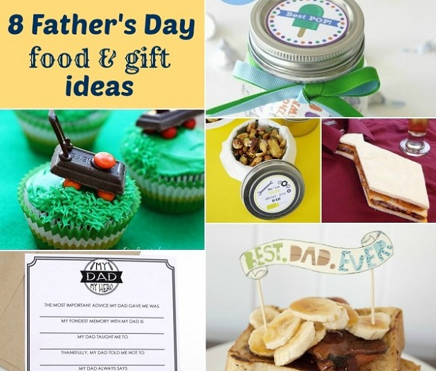 Father's Day Ideas For Food & Gifts - Celebrations at Home