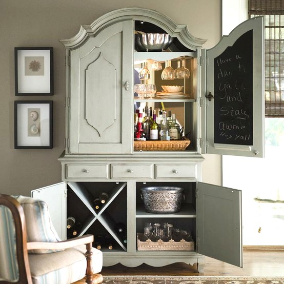 armoire bar via Simple Details