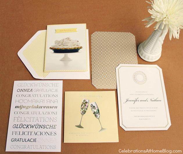 gold party invitations #LetsCelebrate