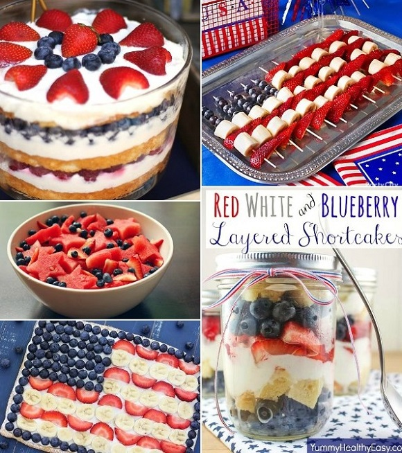 4th of July sweets