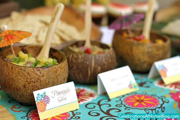Caribbean Theme Party Ideas On Pinterest: Tropical Themed Party Ideas + FREE Printables