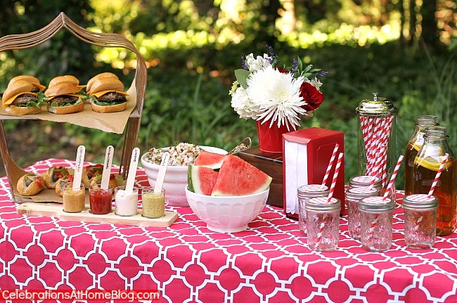 last minute summer cookout with recipes
