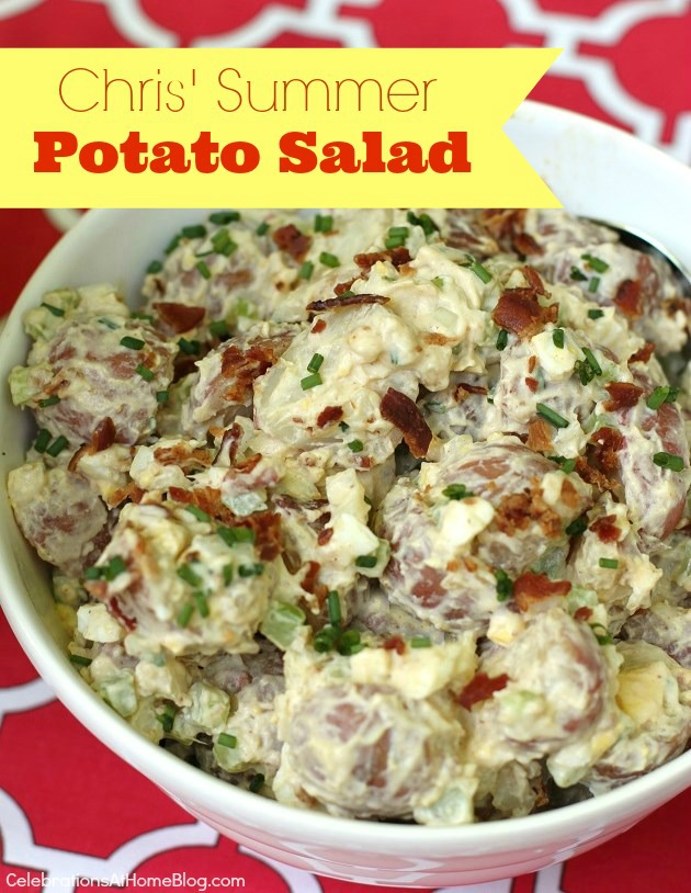 Summer-#potatosalad