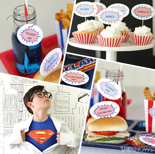 man-of-steel-party-collage