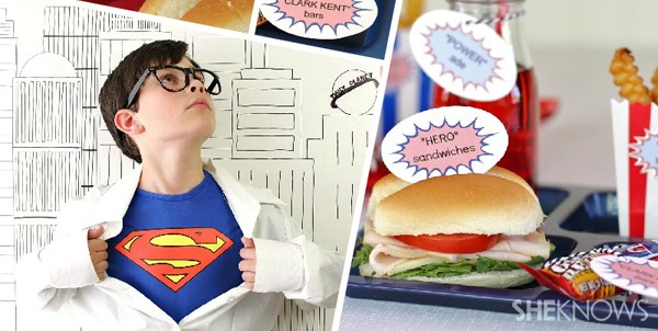 Ideas For A Superman Party
