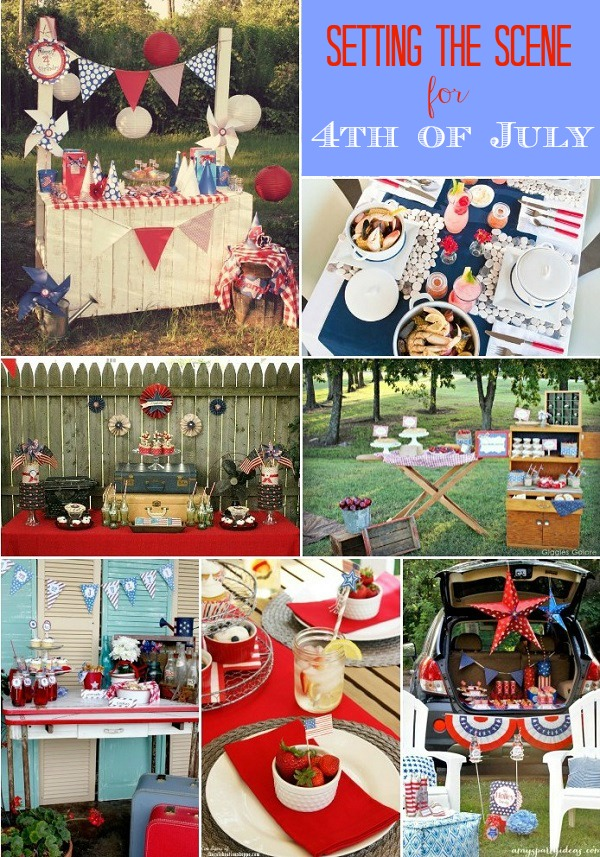 15 Fantasticly styled parties - 4th of July party ideas