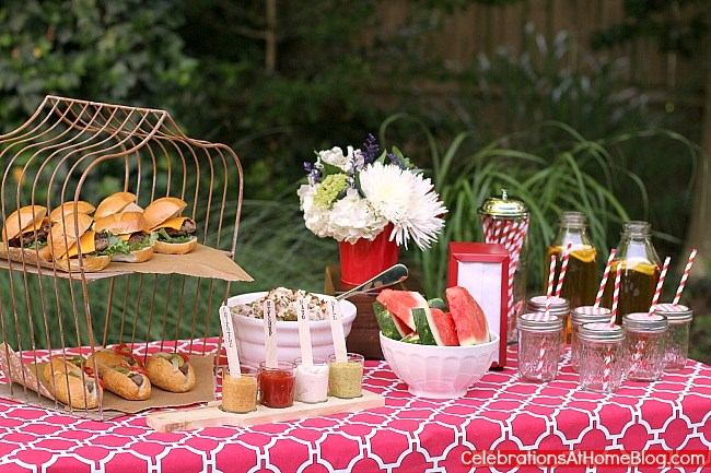 Come see how I hosted a last minute summer cookout with recipes to help make it delicious!