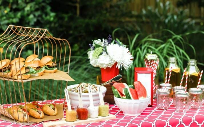 Summer Cookout Tips & Recipes for a Last Minute Party