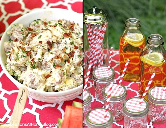 See how I hosted a last minute summer cookout with style!
