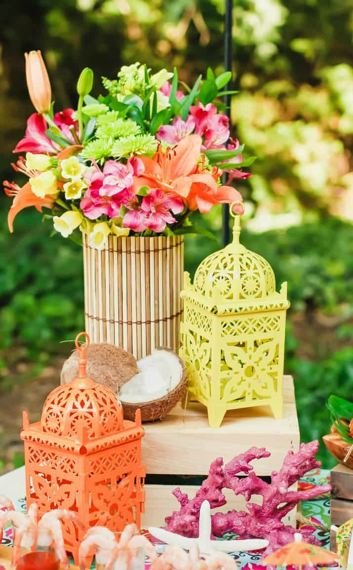 Ideas for a Tropical party