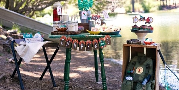Rustic Camping Party {Guest Feature}
