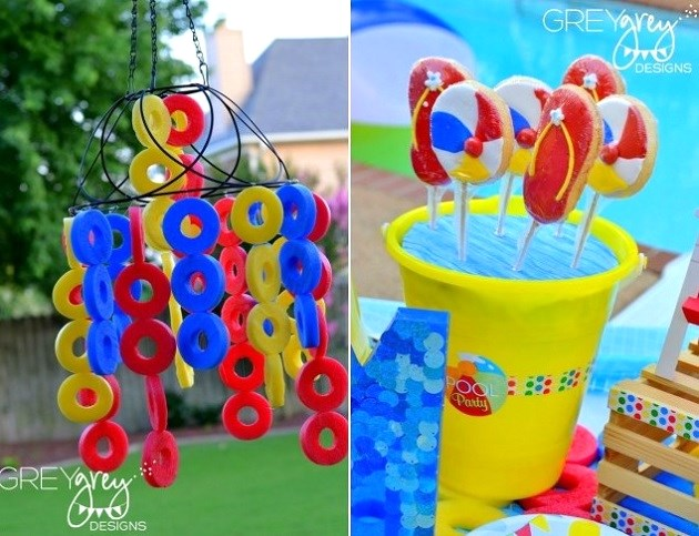 Pool Party Ideas Guest Feature Celebrations at Home – Creative Pool Party Invitations