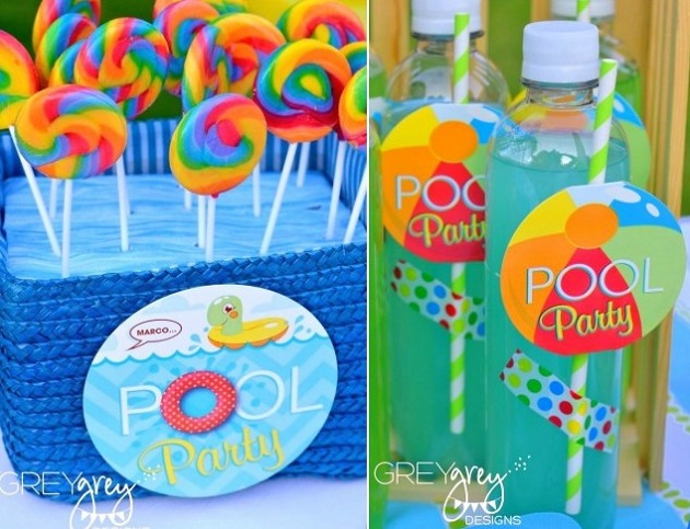 Pool Party Favors Ideas summer birthday party favors Pool Party Favors Ideas Tween Party Favor Ideas Summer Pool Party Cheetah Tween Pool Party Swish