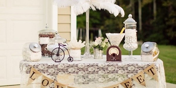 Vintage Style Candy Table {Guest Feature}