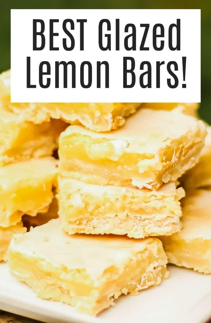 summer dessert lemon bars