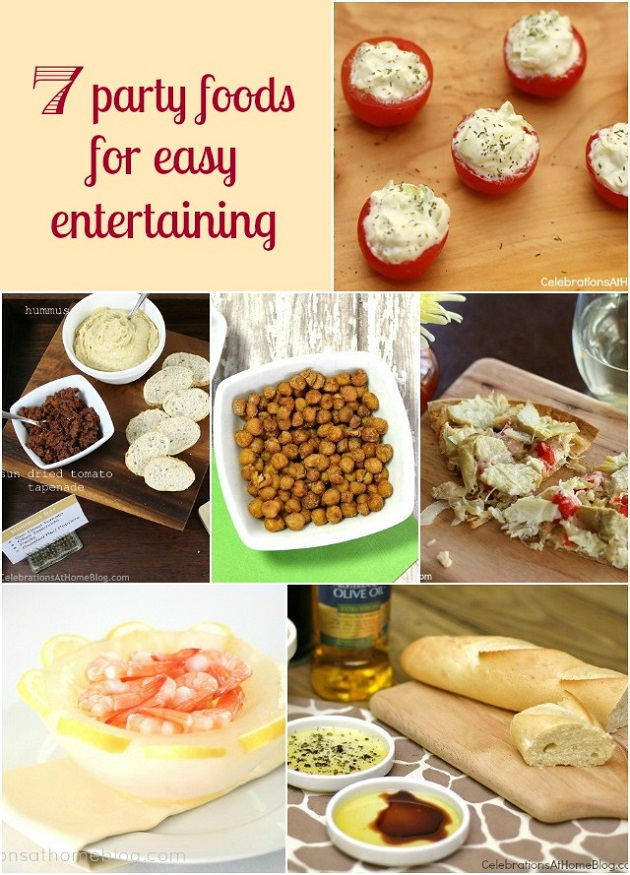 Amazing Easy Dinner Ideas For Party Part - 10: Easy Party Food Ideas