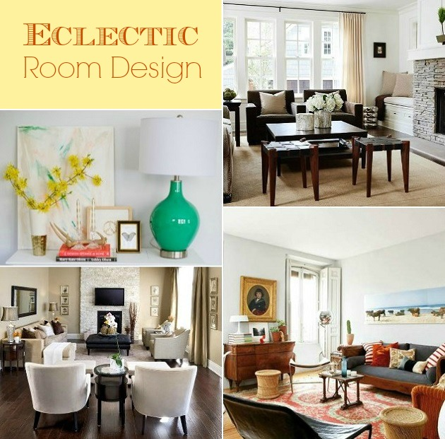 eclectic room design