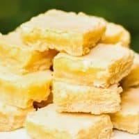 BEST Glazed Lemon Bars Recipe!