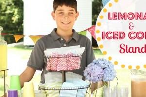 lemonade and iced coffee stand