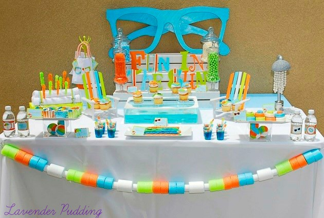 Creative Pool Party Ideas {Guest Feature} - Celebrations ...