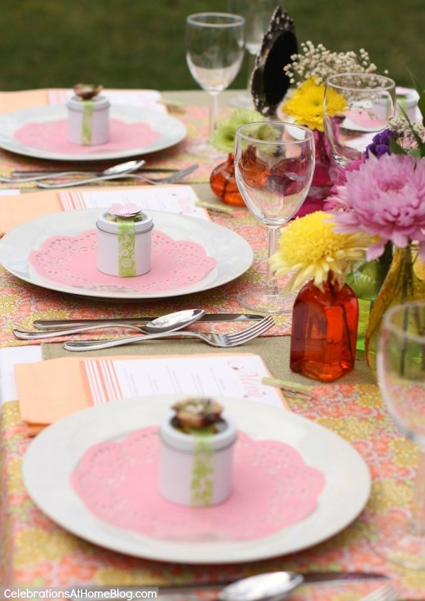pastel party design for bridal parties