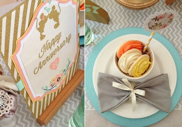 Mickey & Minnie Anniversary party by In Flight Celebrations